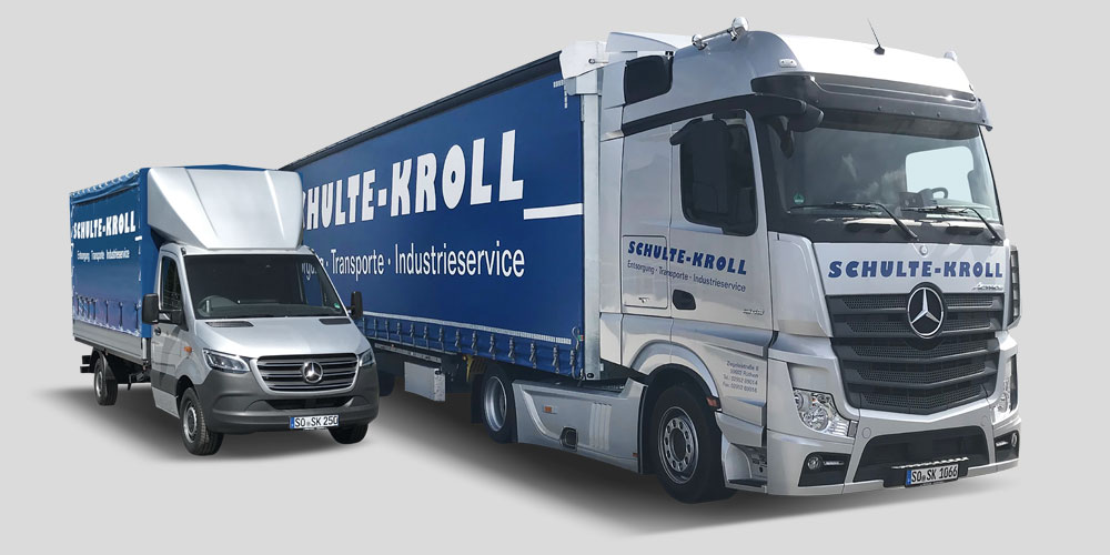 Schulte Kroll LKW Mega-Liner